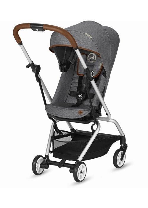 Cybex Cybex Eezy S Twist Stroller - Denim Manhattan Grey