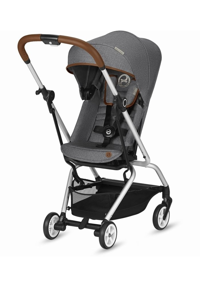 Cybex Eezy S Twist Stroller - Denim Manhattan Grey