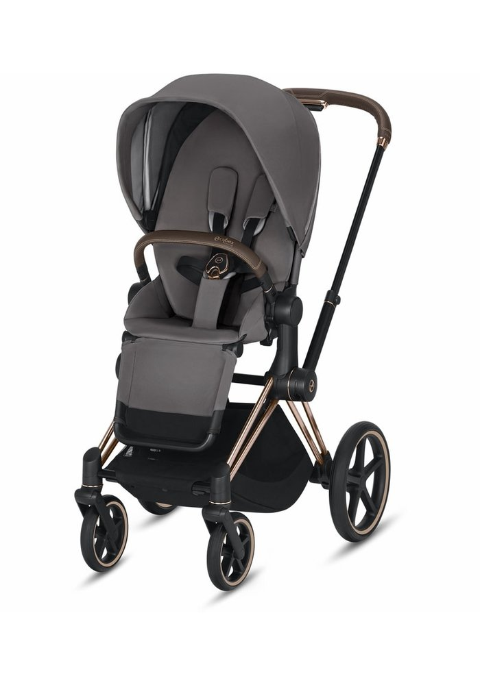 2020 Cybex Priam 3 Stroller - Rose Gold/Manhattan Grey
