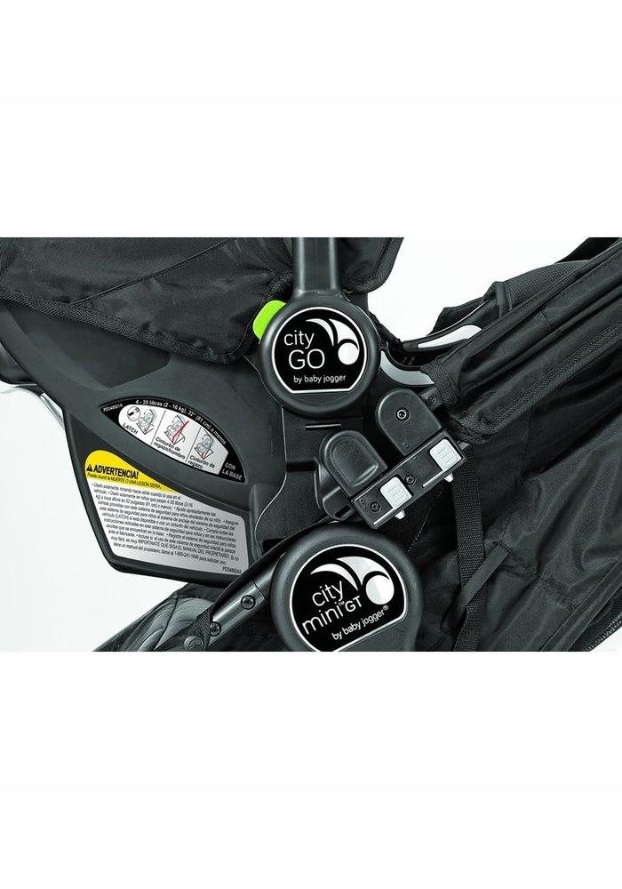 Baby Jogger Car Seat Adapter-Mounting Bracket Single-Baby Jogger City GO- Graco