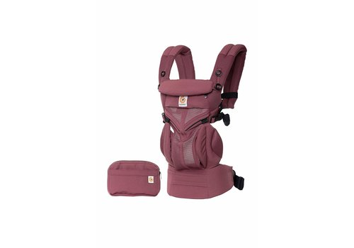 ERGObaby Ergo Baby Omni 360 Cool Air Mesh Baby Carrier All-In Plum
