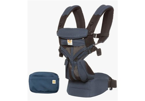 ERGObaby Ergo Baby Omni 360 Cool Air Mesh Baby Carrier All-In Raven