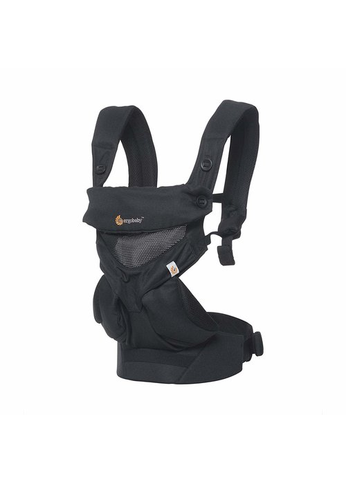 ERGObaby Ergo Baby 360 Cool Air Mesh Baby Carrier In Onyx Black