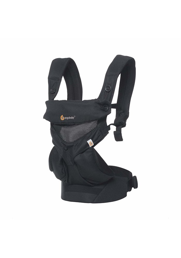 Ergo Baby 360 Cool Air Mesh Baby Carrier In Onyx Black