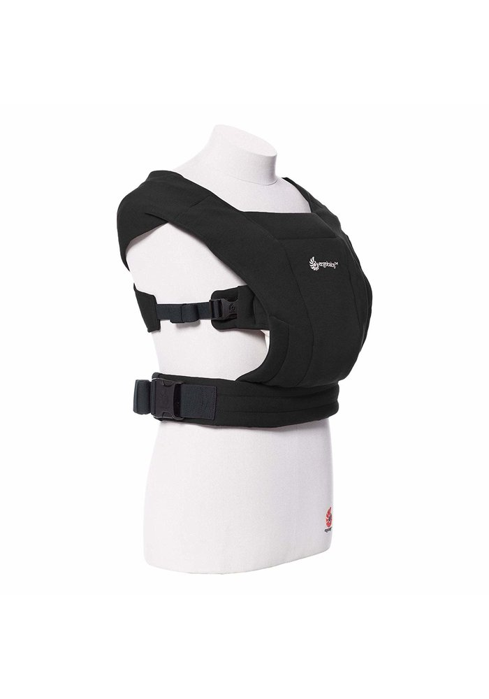 Ergo Baby Embrace  Baby Carrier In Pure Black