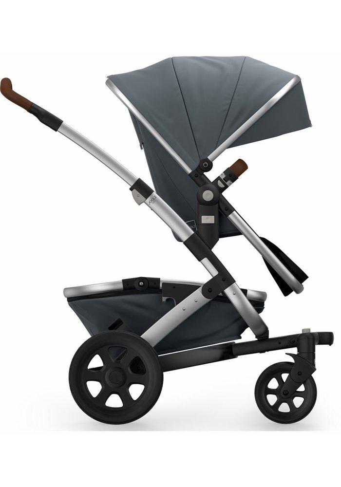 Joolz Geo2 Mono Complete Stroller Set W/Raincover In Gorgeus Grey
