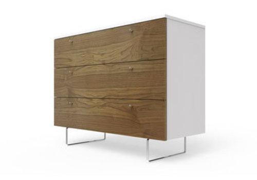 Spot On Square Spot On Square Alto Dresser 45'' - White-Walnut
