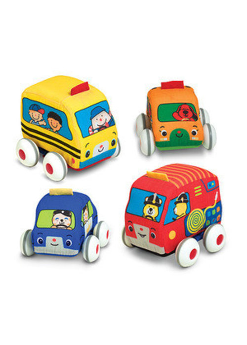 Melissa And Doug Melissa And Doug Pull-Back Vehicles