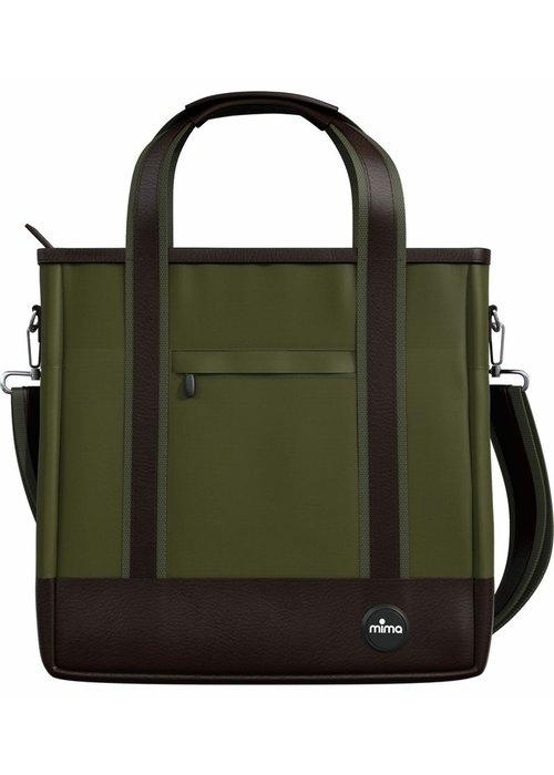 Mima Kids Mima Zigi Changing Bag In Olive Green