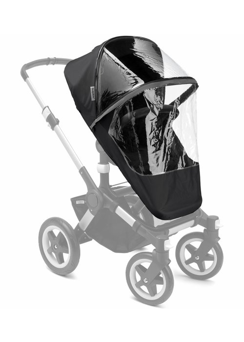 Bugaboo Bugaboo Donkey-Buffalo-Runner High Performance Rain Cover In Black