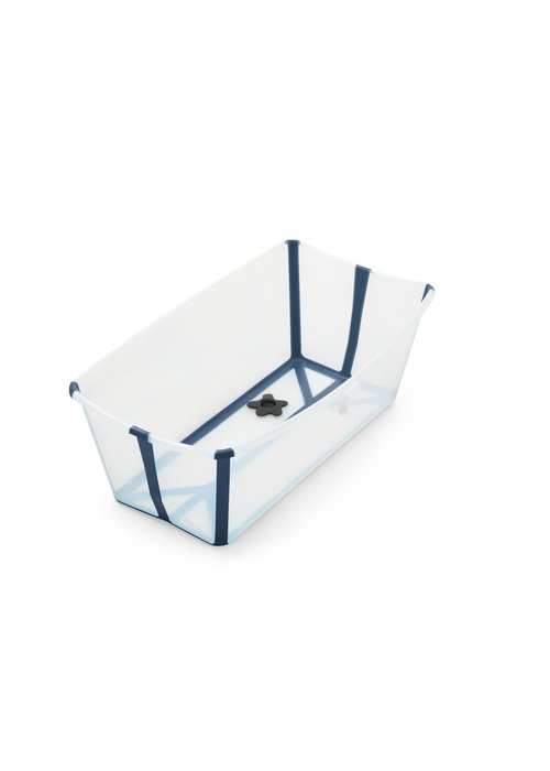 Stokke Stokke Flexi Bath In Transparent Blue