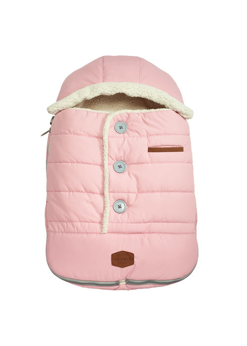 JJ Cole Collections JJ Cole Infant Urban Bundle Me Thermaplush In Blush