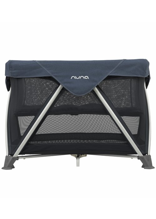 Nuna Nuna Sena Aire Pack and Play Playard Travel Crib With Bassinet In Aspen