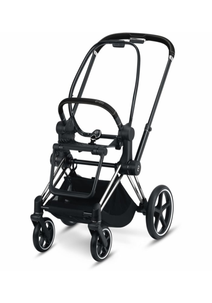 2020 Cybex PRIAM 3 Frame Included Seat Hardpart Chrome Black Handle