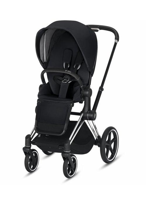 Cybex 2020 Cybex Priam 3 Stroller - Chrome/Black/Premium Black