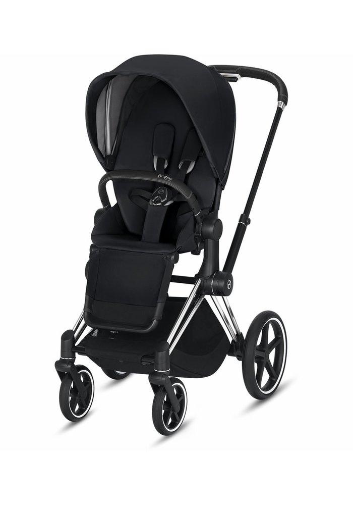 2020 Cybex Priam 3 Stroller - Chrome/Black/Premium Black