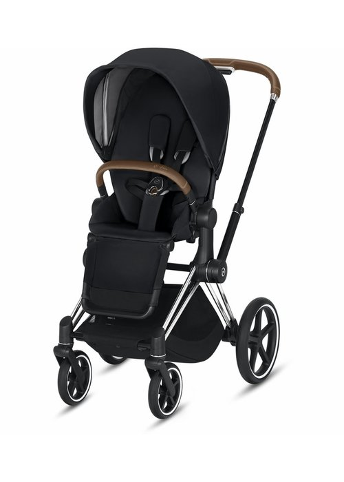 Cybex 2020 Cybex Priam 3 Stroller - Chrome/Brown/Premium Black