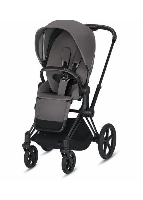 Cybex 2020 Cybex Priam 3 Stroller - Matte Black/Manhattan Grey