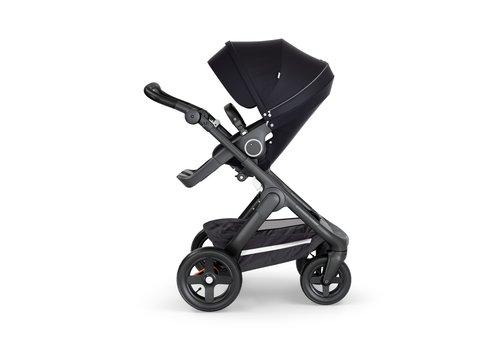 Stokke Stokke Trailz Black Frame- Black Handle Stroller With Terrain Wheels Black