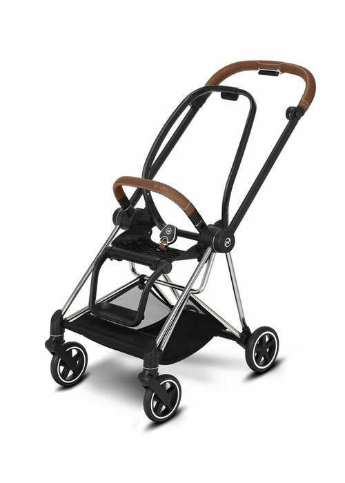 Cybex Cybex Mios 2 Frame incl. Seat Hardpart In Chrome-Brown
