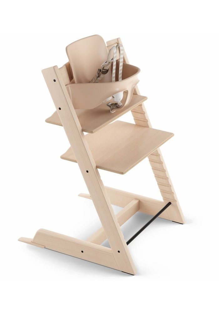Stokke Tripp Trapp High Chair Set- In Natural (Includes, Chair, Baby Set, Tray)