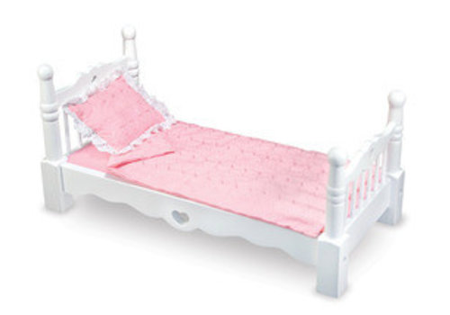 Melissa And Doug Melissa And Doug Wooden Doll Bed