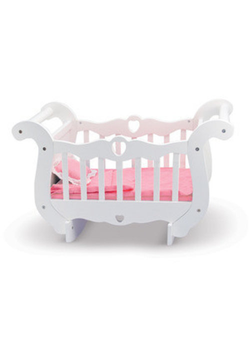 Melissa And Doug Melissa And Doug Wooden Doll Crib