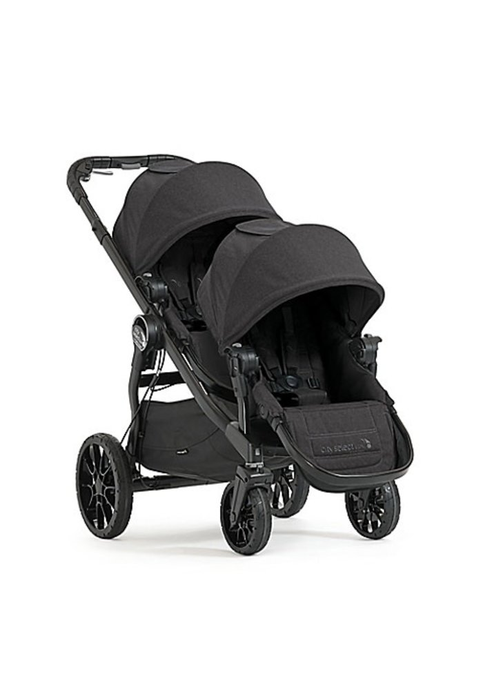 Baby Jogger City Select Lux Stroller With Second Seat In Granite