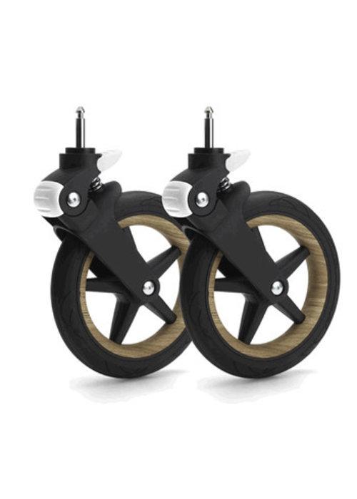 Bugaboo Bugaboo Fox Wheel Caps In Wood