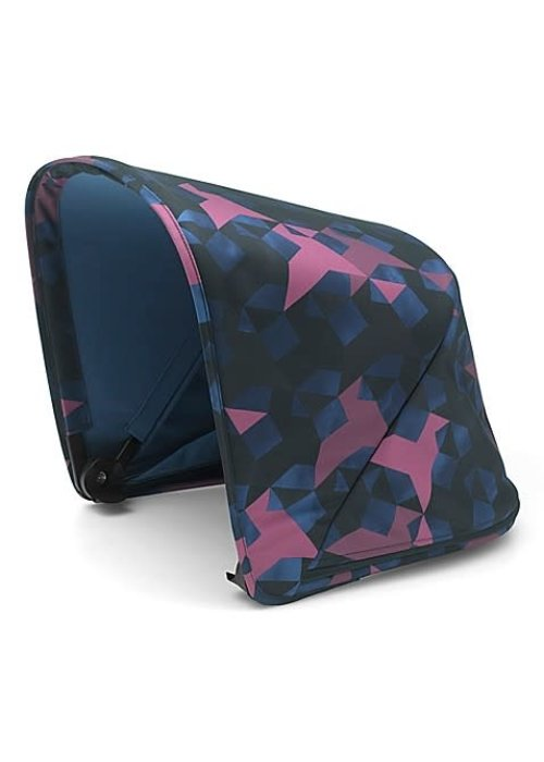 Bugaboo CLOSEOUT!! Bugaboo Donkey2 Extendable Sun Canopy In Birds (BOX 3)