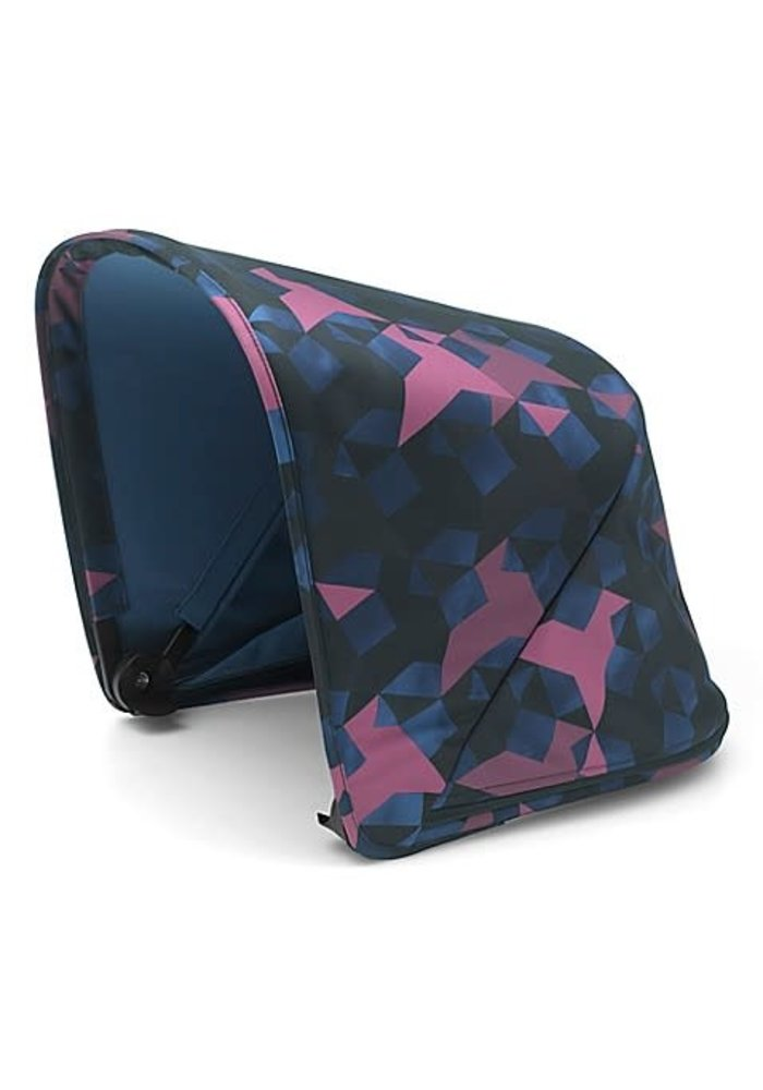 CLOSEOUT!! Bugaboo Donkey2 Extendable Sun Canopy In Birds (BOX 3)