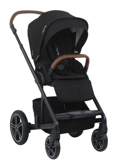 Nuna 2020 Nuna Mixx Stroller In Caviar + Adaptors