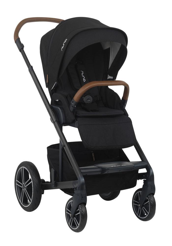 2020 Nuna Mixx Stroller In Caviar + Adaptors