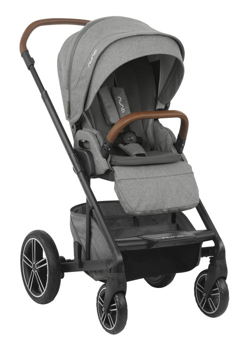 Nuna 2020 Nuna Mixx Stroller In Granite + Adaptors