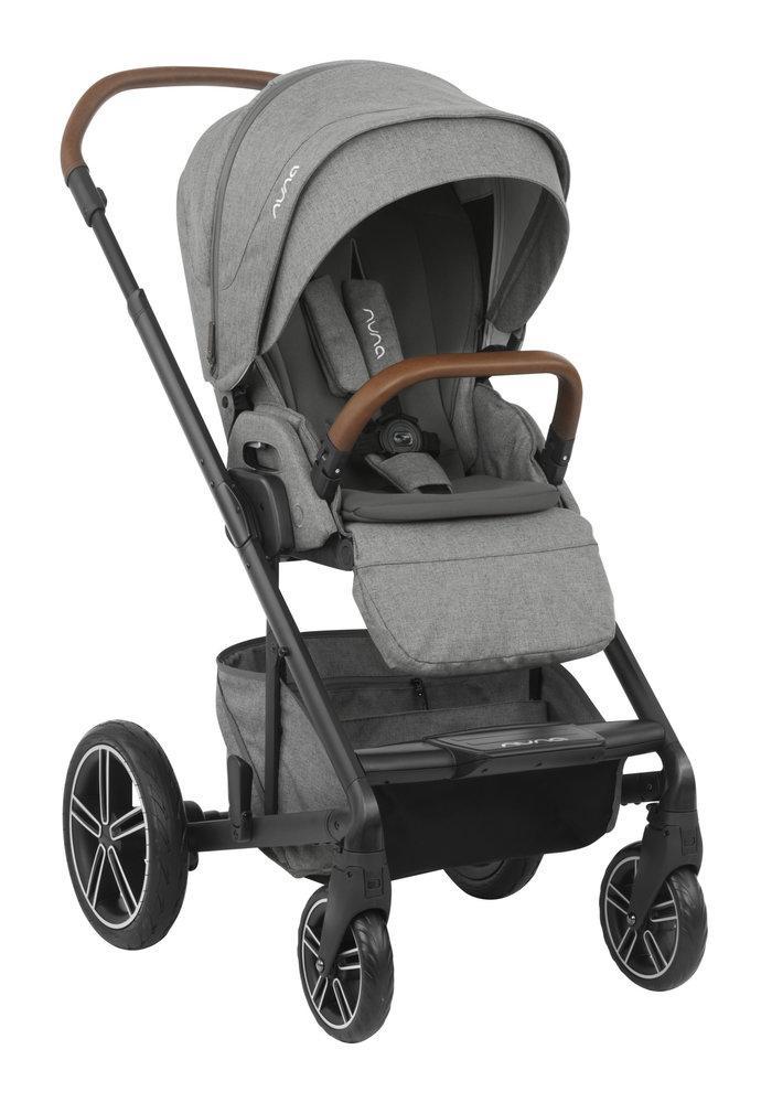 2020 Nuna Mixx Stroller In Granite + Adaptors
