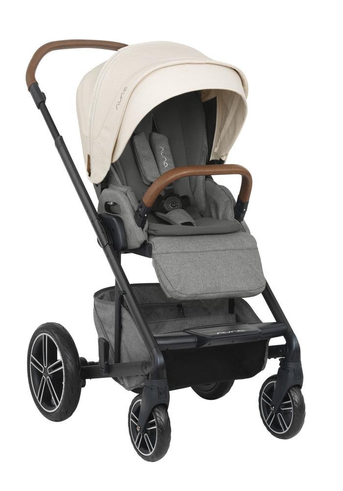 2020 Nuna Mixx Stroller In Birch + Adaptors