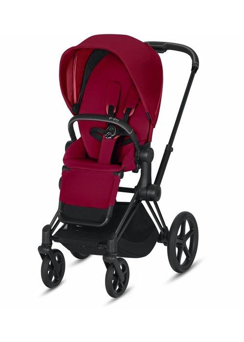 Cybex 2020 Cybex Priam 3 Stroller - Matte Black/True Red