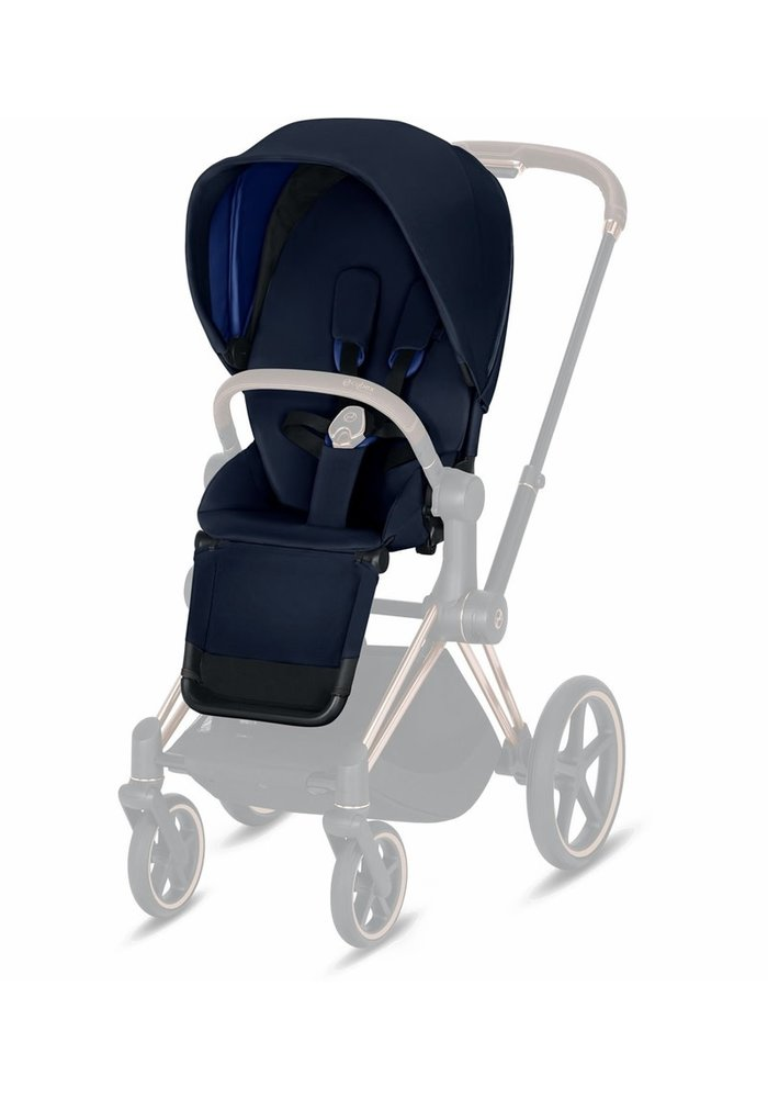 2020 Cybex Priam 3 Seat Pack In Indigo Blue