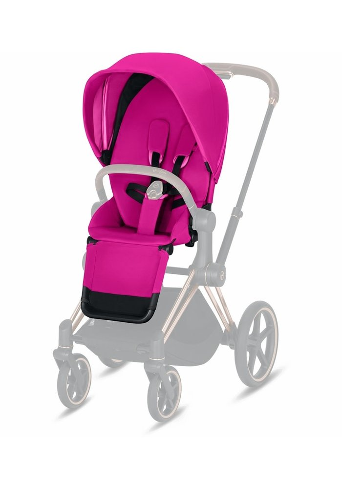 2020 Cybex Priam 3 Seat Pack In Fancy Pink
