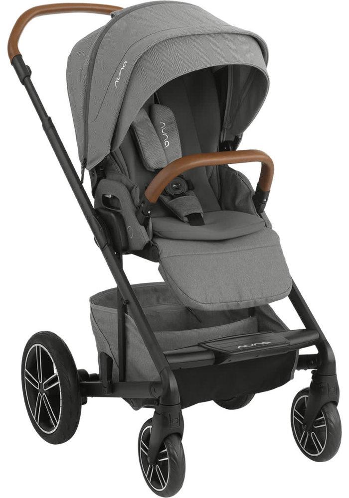 2020 Nuna Mixx Stroller In Oxford + Adaptors