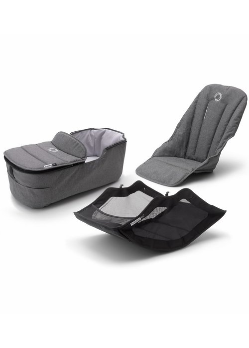 Bugaboo Bugaboo Fox2 Style Set In Grey Melange