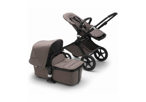 Bugaboo Bugaboo Fox2 Complete Stroller - Black/Mineral Taupe