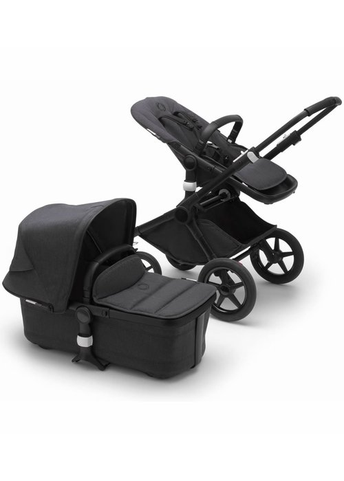 Bugaboo Bugaboo Fox2 Complete Stroller - Black/Mineral Washed Black