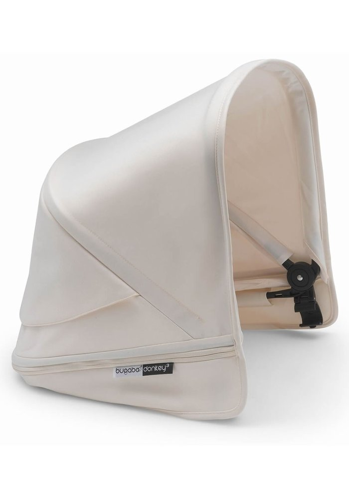 Bugaboo Donkey3 Extendable Sun Canopy With Peek A Boo In Fresh White (BOX 3)