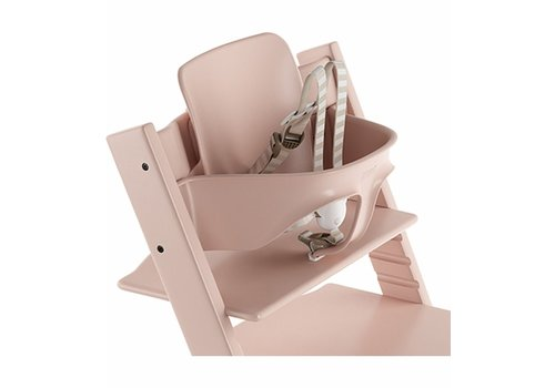 Stokke Stokke Tripp Trapp Baby Set In Serene Pink