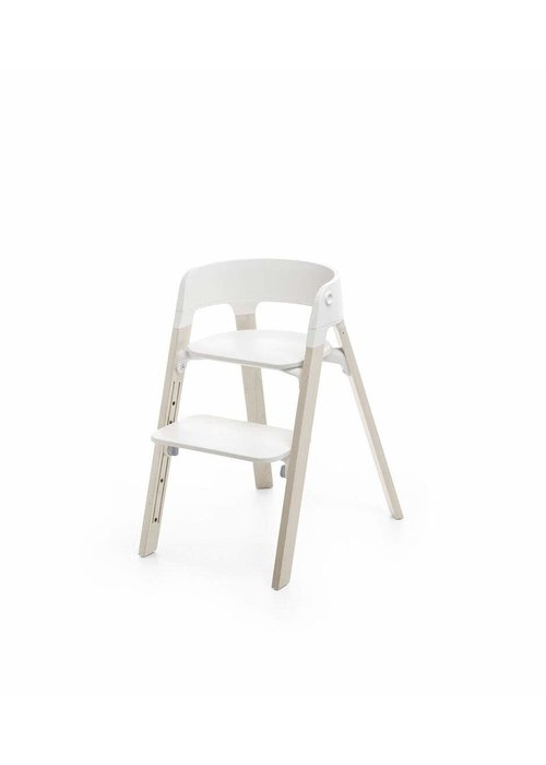 Stokke Stokke Steps Complete Whitewash Legs/White Seat