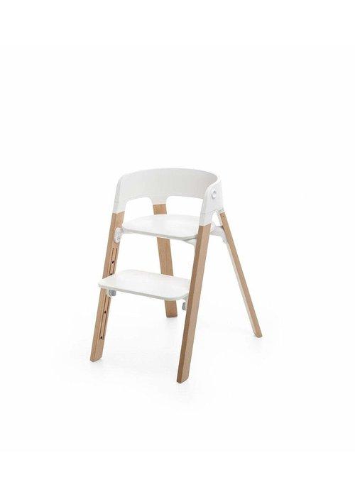 Stokke Stokke Steps Complete Natural Legs/White Seat