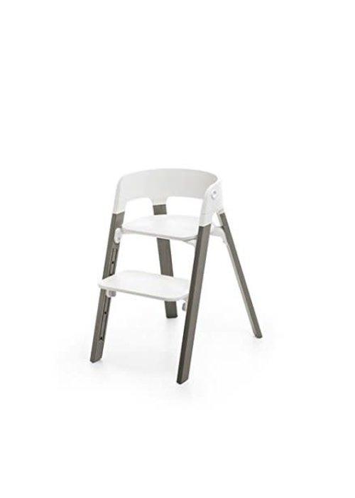 Stokke Stokke Steps Complete Hazy Grey Legs/White Seat
