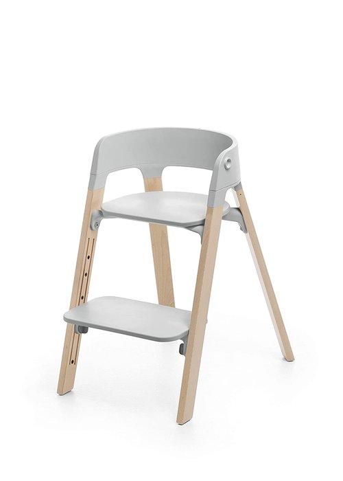 Stokke Stokke Steps Complete Natural Legs/Grey Seat