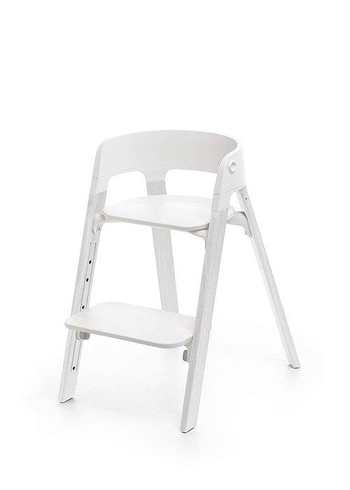 Stokke Stokke Steps Complete Oak White Legs/White Seat